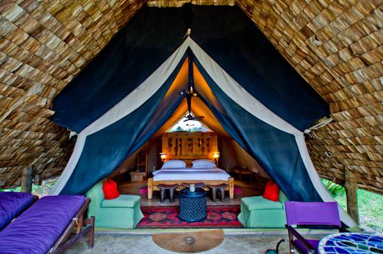 grumeti tented camp in the serengeti
