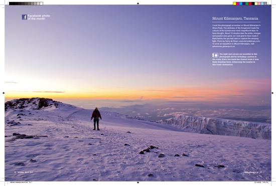 Getaway magazine March 2012