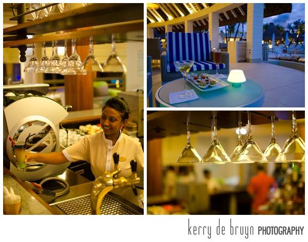 Cocktails in Mauritius