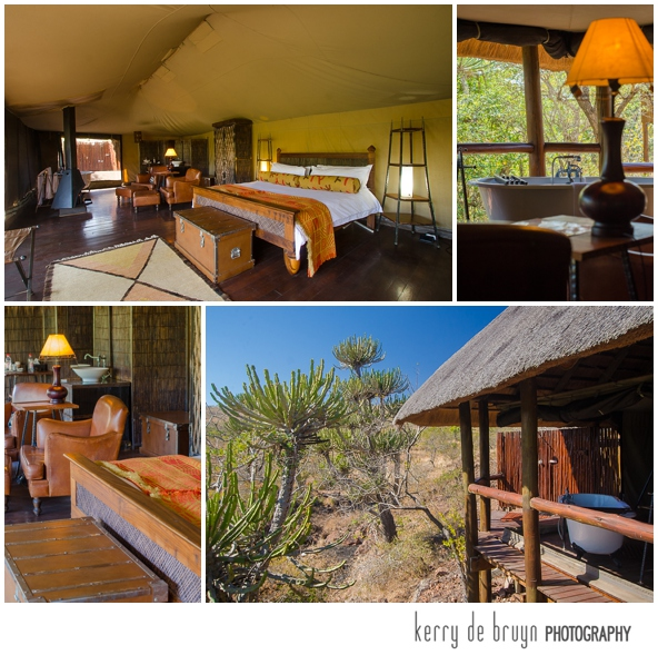South African game lodge photography