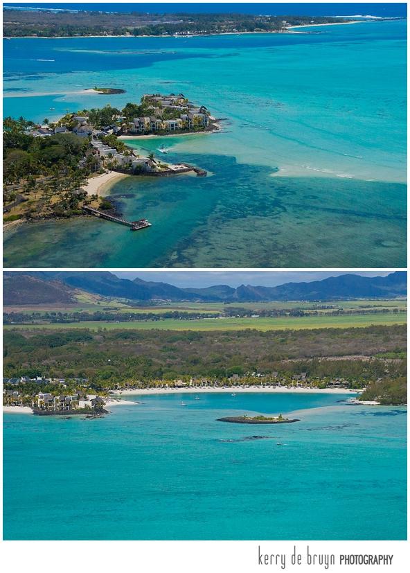 Aerial photographer Mauritius