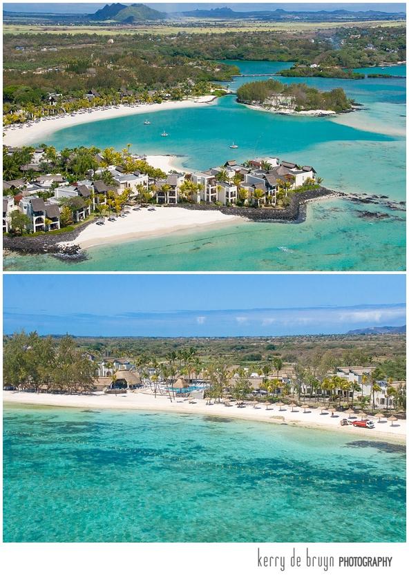 Aerial views in Mauritius