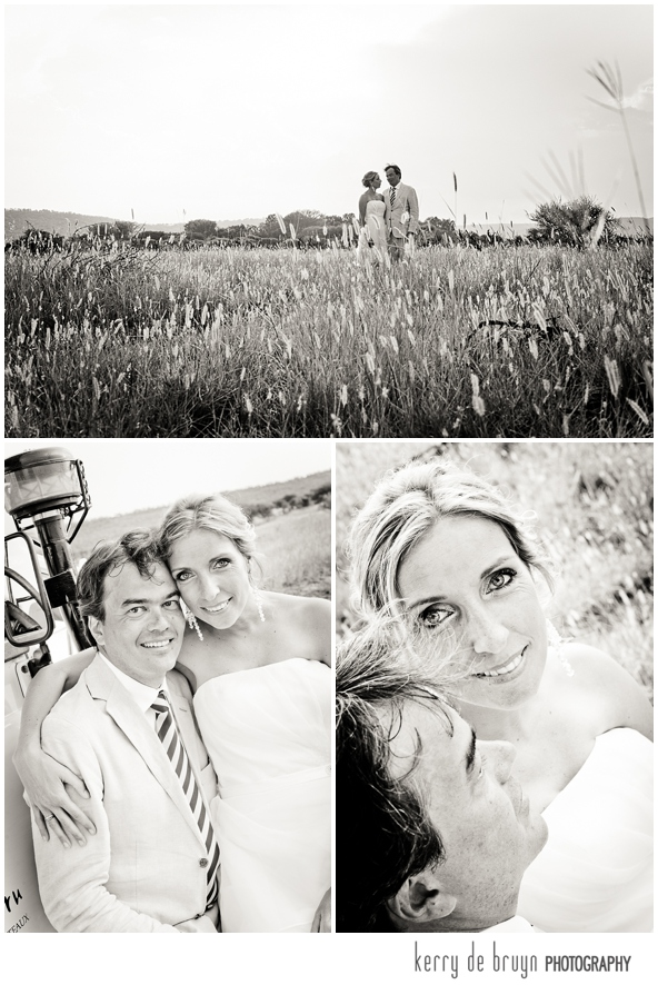 Game farm wedding