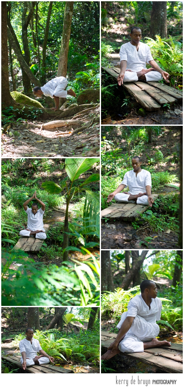 Yoga retreat photographer