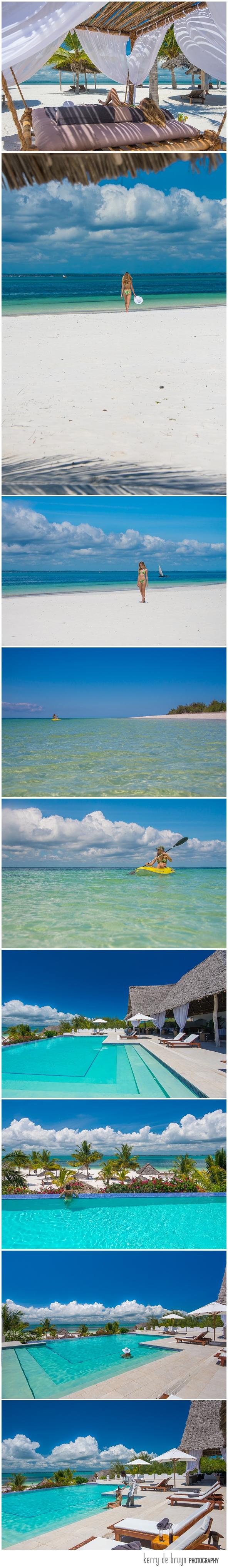 Island resort photography