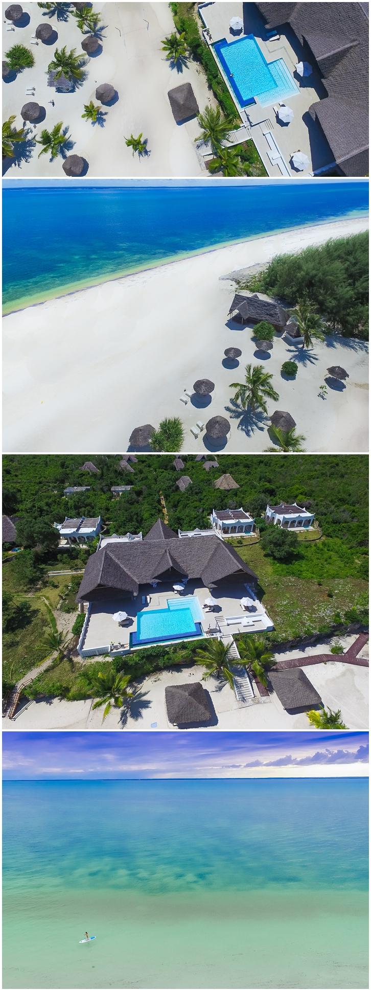 Aerial photographer Zanzibar Tanzania