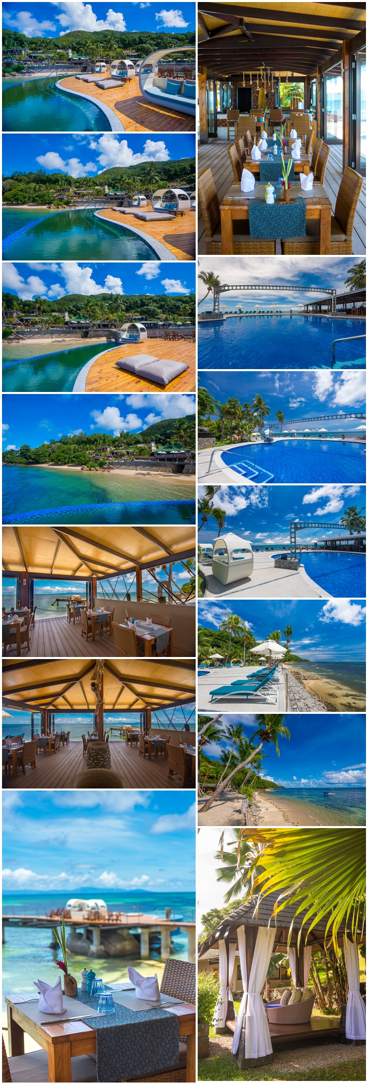 Seychelles Hotel and resort photographer
