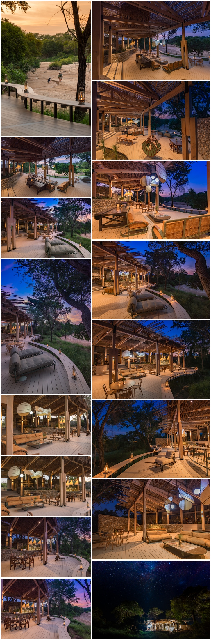 Luxury lodges thornybush
