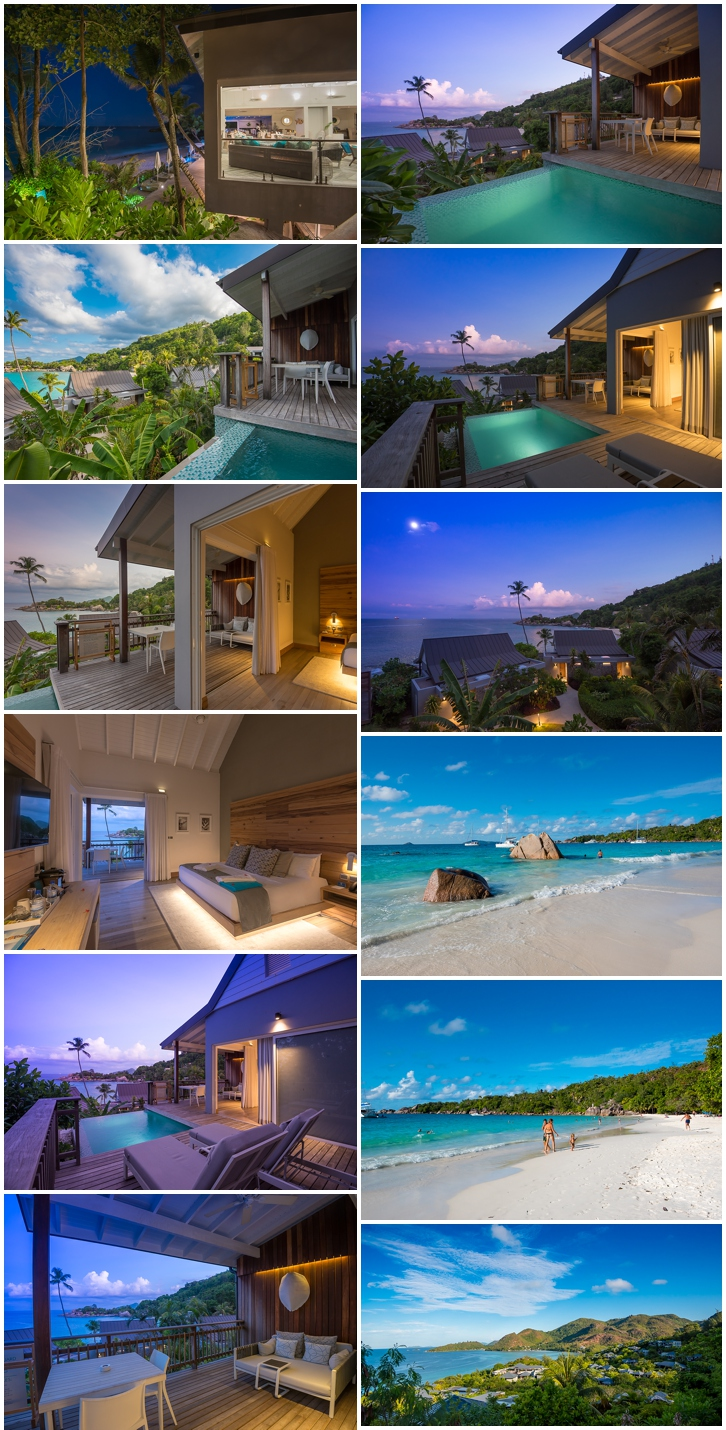 Hotel and lodge photographer seychelles Africa